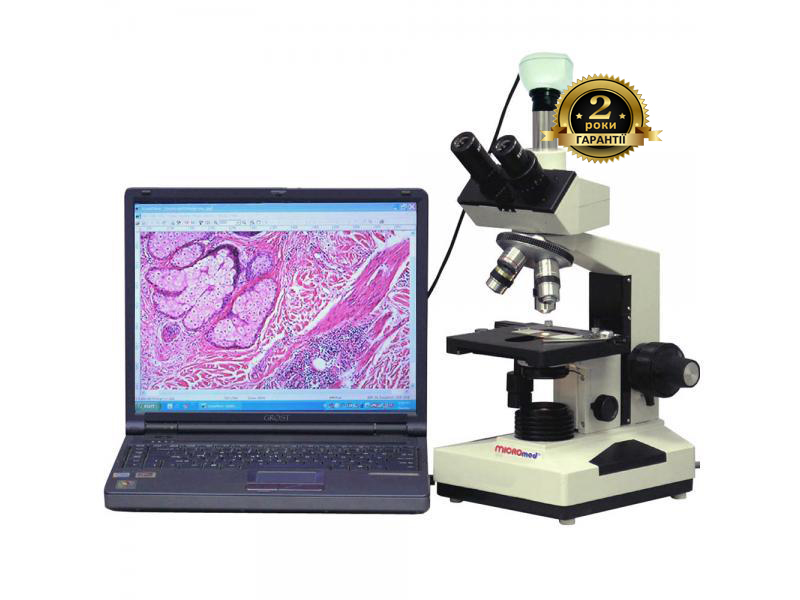 Цифровой биологический микроскоп XS-3330 LED MICROmed